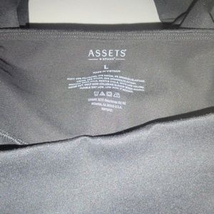 SPANX Pants - Assets By Spanx Shaping Leggings Black L